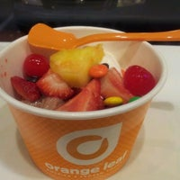 Photo taken at Orange Leaf by Pat .. on 3/8/2012