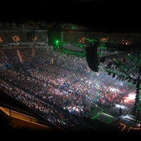 Photo taken at Mohegan Sun Arena at Casey Plaza by The University of Scranton on 2/15/2012