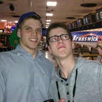 Photo taken at Brunswick Zone by Rob H. on 1/17/2012