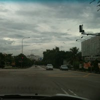 Photo taken at Intersection Jalan Teratai by Henry K. on 1/27/2011