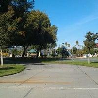 Photo taken at William Steinmetz Park by Waylup C. on 10/28/2011