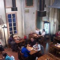 Photo taken at Pizzerie Mediterane by Jakub N. on 11/18/2011