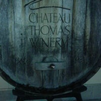 Photo taken at Chateau Thomas Winery by Rene H. on 12/23/2011