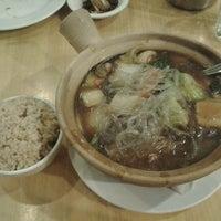 Photo taken at Happy Buddha Vegetarian Restaurant by l-puff on 8/2/2012