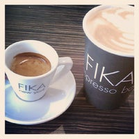 Photo taken at FIKA Espresso Bar by Nathan R. on 5/19/2012