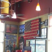 Photo taken at Red Robin Gourmet Burgers by Valori F. on 7/11/2012
