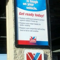 Photo taken at Valvoline Instant Oil Change by Amy B. on 3/19/2012