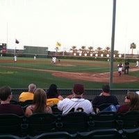 Photo taken at Packard Baseball Stadium by Ryan E. on 4/16/2011