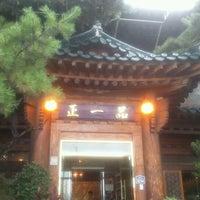 Photo taken at 正一品(이천쌀밥) by kim m. on 9/18/2011