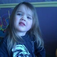 Photo taken at Wiggle Worms Children's Hair Studio by Karen C. on 2/7/2012