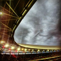 Photo taken at Stadion Feijenoord by Richard v. on 8/9/2012