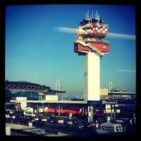 Photo taken at Leonardo da Vinci–Fiumicino Airport (FCO) by Luca F. on 11/17/2011