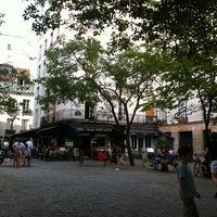 Photo taken at Place du Marché Sainte-Catherine by Merav E. on 7/11/2011