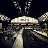 Photo taken at Hamburg Central Station by EROK on 9/12/2012