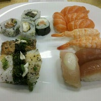 Photo taken at Wok Sushi by Liz N. on 1/31/2012