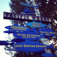 Photo taken at Pacific Wharf by Nicole K. on 8/19/2012