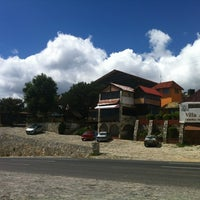 Photo taken at Villa Alpina El Chalet by Ana Z. on 6/12/2012