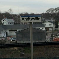Photo taken at LIRR - Amityville Station by Jig S. on 3/9/2012