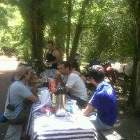 Photo taken at Los Heroes, Caja de Compensacion by Jorge M. on 11/26/2011