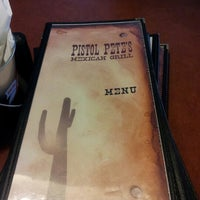 Photo taken at Pistol Pete's Mexican Grill by A F. on 8/3/2012