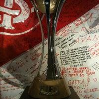 Photo taken at Beira-Rio Stadium by Thiago S. on 4/19/2012