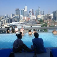 Photo taken at Thompson Rooftop Lounge by Eesmyal on 6/10/2012