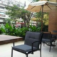 Photo taken at espresso gallery by Sahutsa I. on 1/1/2012