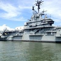 Photo taken at Intrepid Sea, Air & Space Museum by Vilen D. on 8/21/2012