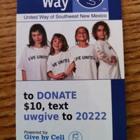 Photo taken at United Way Of Southwest New Mexico by Michael Z. on 3/11/2011