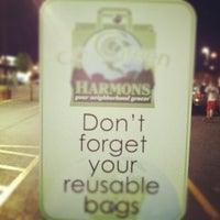 Photo taken at Harmons Grocery by Derek L. on 4/17/2012