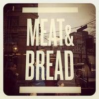 Photo taken at Meat & Bread by Yasmin B. on 3/3/2012