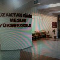 Photo taken at SDÜ Uzaktan Eğitim MYO by Osman D. on 5/15/2012