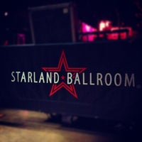 Photo taken at Starland Ballroom by Nicole M. on 8/8/2012