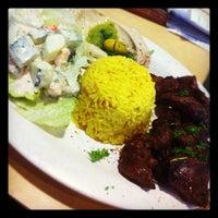 Photo taken at Aladdin's Mediterranean Grill & Deli by Hannah W. on 2/5/2012