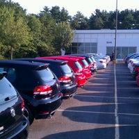 Photo taken at Quirk Volkswagen by Reggie L. on 9/7/2012