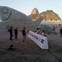 Photo taken at Enseada de Botafogo by Alexandre R. on 6/24/2012