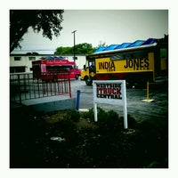 Photo taken at Westside Food Truck Central by Joséphine R. on 5/3/2012
