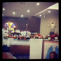 Photo taken at Iglesia La Resurrección by Clau S. on 4/9/2012