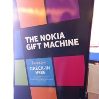 Photo taken at Nokia Gift Machine @ App Campus – Disrupt San Fran by Adriana D. on 6/20/2012