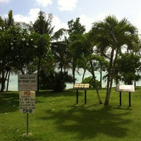 Photo taken at Ypao Beach Park by 旅人 m. on 6/4/2012