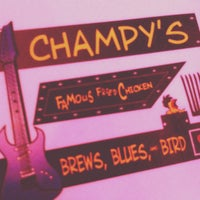 Photo taken at Champy's Famous Fried Chicken by Jorden G. on 6/14/2012