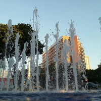 Photo taken at Praça Diogo de Vasconcelos (Praça da Savassi) by Daniel B. on 7/14/2012