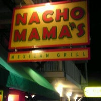 Photo taken at Nacho Mama's Mexican Grill by Andrew N. on 11/17/2011