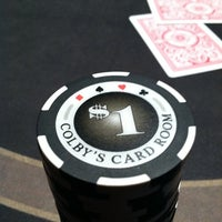 Photo taken at Colby's Card Room by Colby H. on 2/8/2011