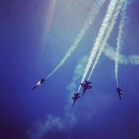 Photo taken at Blue Angels Air Show by Amanda F. on 3/25/2012