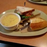 Photo taken at Saint Louis Bread Co. by Lottie P. on 8/18/2012