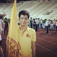 Photo taken at Supachalasai Stadium by Racious M. on 2/24/2012