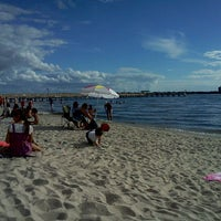 Photo taken at Cape Coral Beach at Yacht Club Community Park by Kirsten on 12/25/2011