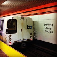 Photo taken at Powell St. BART Station by Martin O. on 6/9/2012