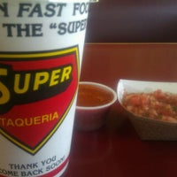 Photo taken at Super Taqueria by L.a. H. on 9/15/2011